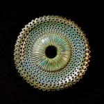 #117. Diatom F, 2″ x 9″