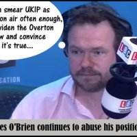 James O'Brien, the radio straw-man delusion