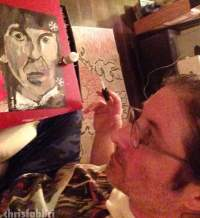 George Harrison -Chris Fabbri art studio 2016