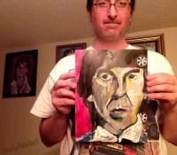 George Harrison- Chris Fabbri art studio 2016