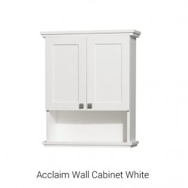 Acclaim Wall Cabinet White