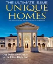 "Victoria Moorhouse selected and featured the Greenwich as a ""Unique Perspective"" in the June issue of Unique Homes."