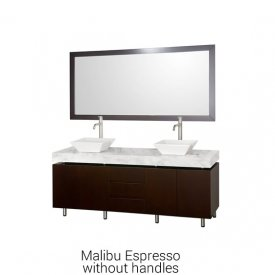 Malibu Espresso Without Handles | Available Sizes: 72″
