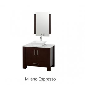 Milano Espresso | Available Sizes: 36″ (by Special Order Only).