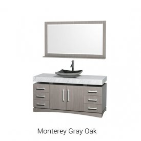 Monterey Gray Oak | Available Sizes: 60″