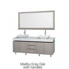Malibu Gray Oak With Handles | Available Sizes: 48″