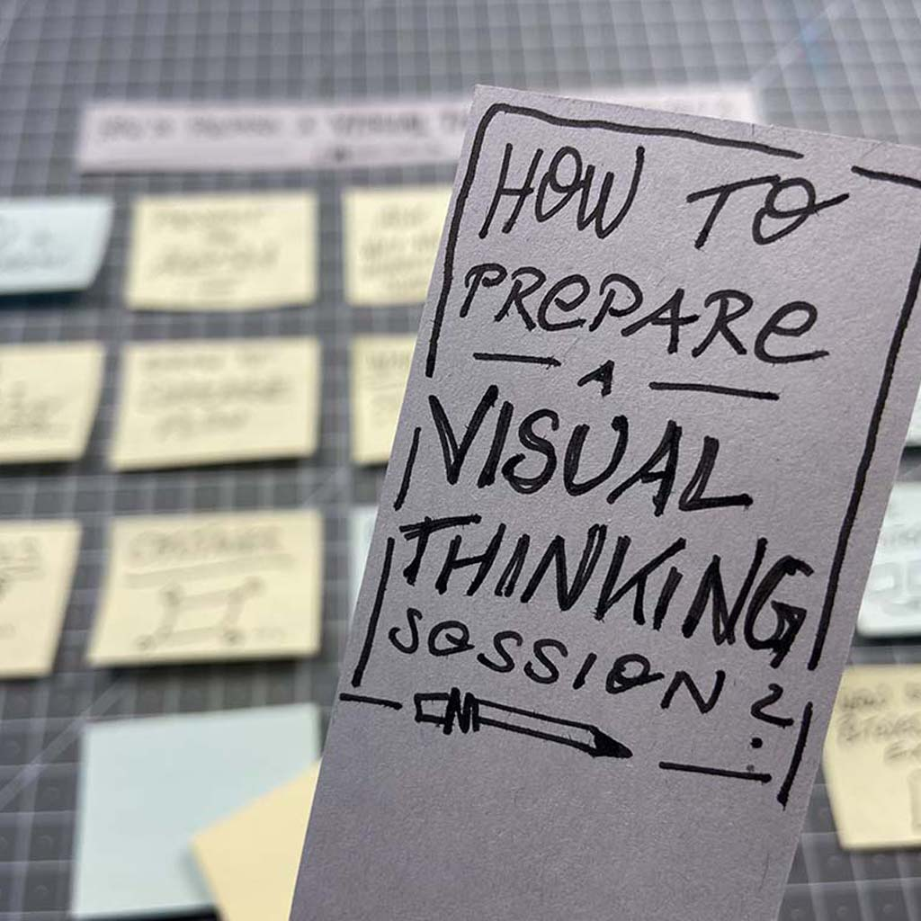 Virtual Visual Thinking Workshop bei CAMAO – Sketchnote 101