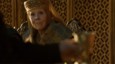Olenna Tyrell, the Queen of Thorns