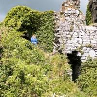 Corky explores Carrigogunnell Castle