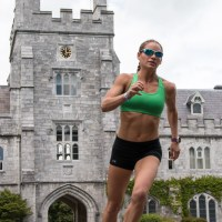 Corky on the run at University College Cork