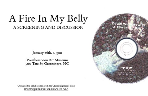 fire in my belly screening - promo graphic
