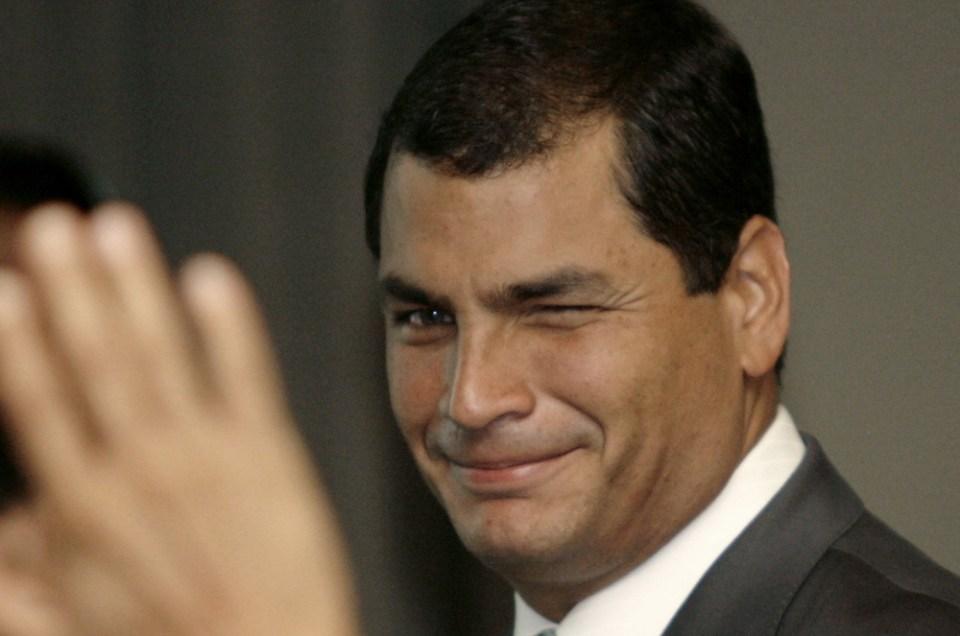 Rafael Correa, líder de un nuevo socialismo.