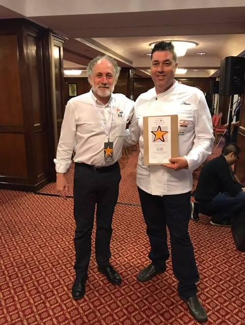 Amaro Rodríguez, galardonado como uno de los mejores panaderos de España.