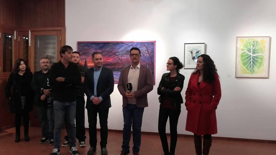 Invitado a la exposición de artistas de Ingenio.
