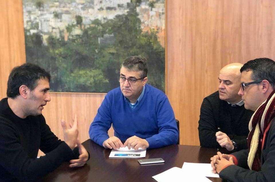 Encuentro con la Asociación de Empresas de Artes Escénicas de Canarias.