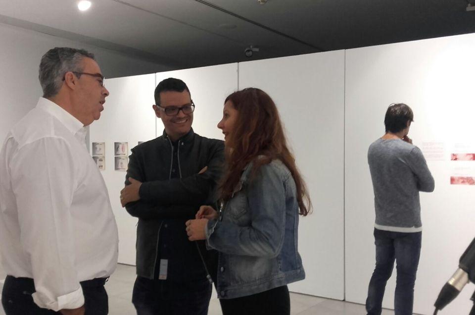 Inauguramos la obra de Beatriz Pérez.