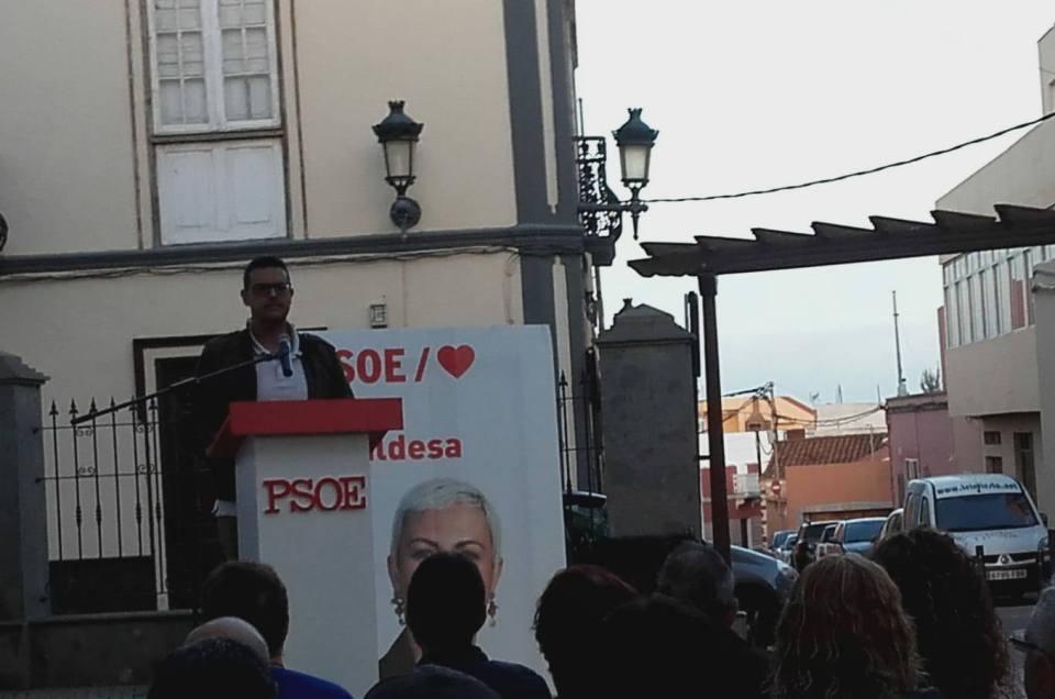 Intensa participación en la campaña electoral municipal de 2019.