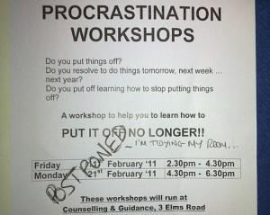 procrastination pic