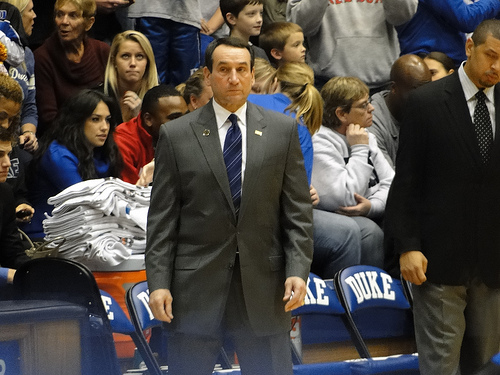 pic of Coach K
