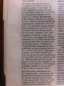 Study Guide Scripture Notes