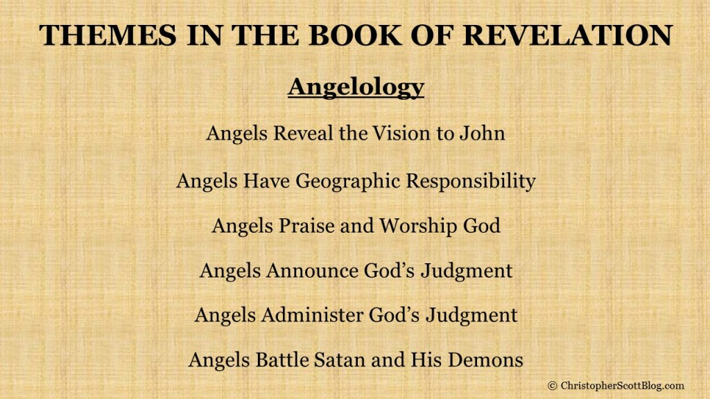 Angelology in the Book of Revelation