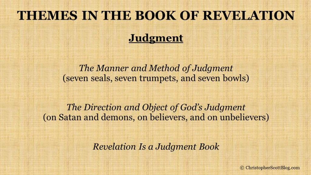 Judgement in the Book of Revelation