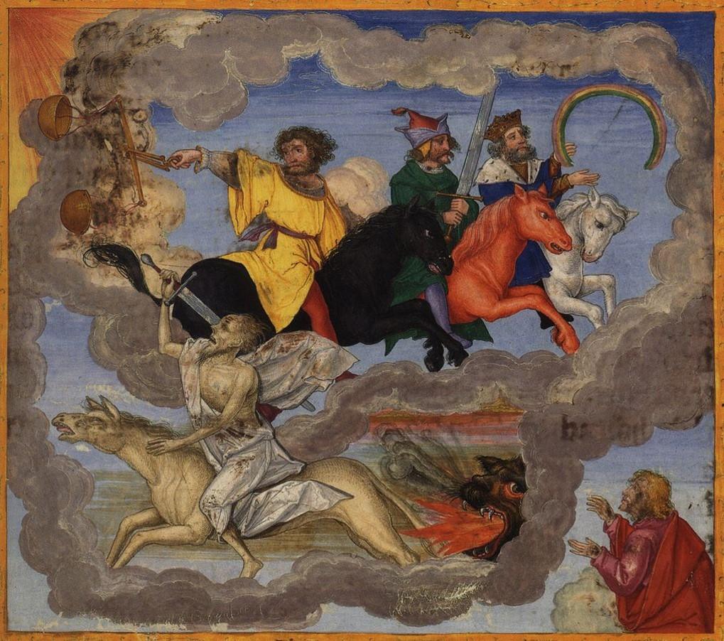 The Four Horsemen (Rev 6:1-8)