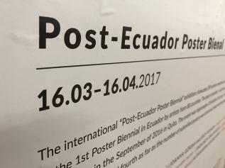 Post-Ecuador Poster Bienal - Lublin, Poland 12