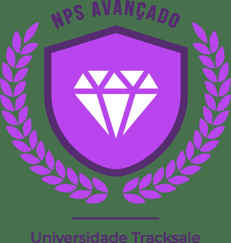 Selo de certificação do NPS Avançado - Track.co (Tracksale)