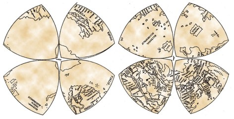 Leonardo da Vinci's World Map, image
