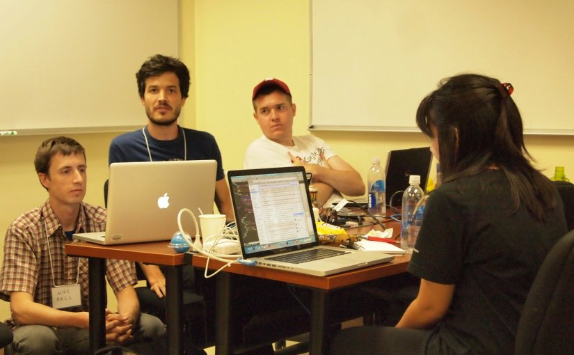 Random Hacks of Kindness Philadelphia: organizing, judging hackathon