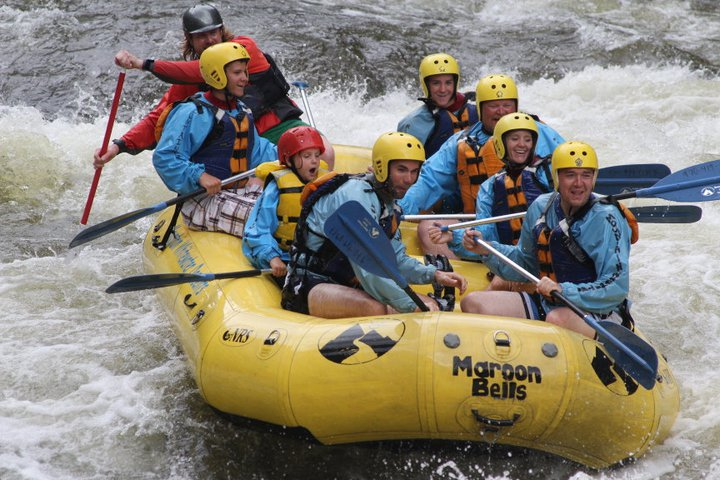 Whitewater Rafting in Colorado [VIDEO]