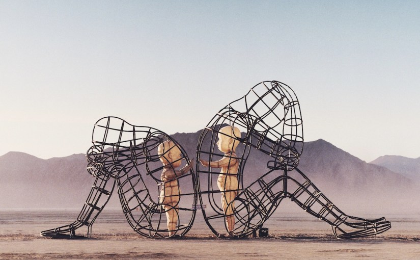 (Photo of art in the Black Rock Desert by Gerome Viavant via Unsplash)