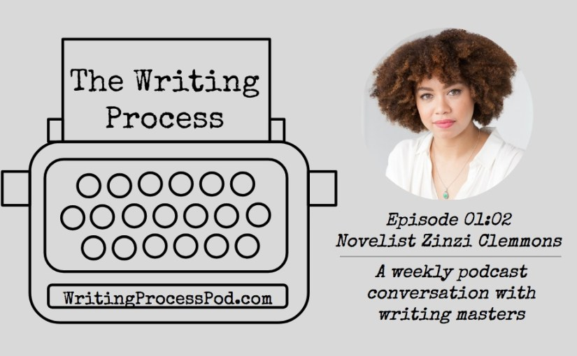 The Writing Process promo image of Zinzi Clemmons