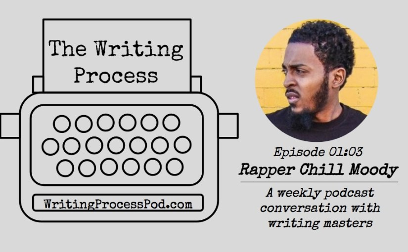 Headshot of Chill with the Writing Process podcast logo