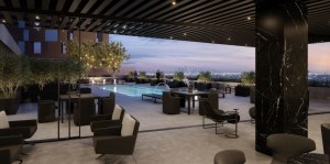 AKA Residences Include Private Lounge