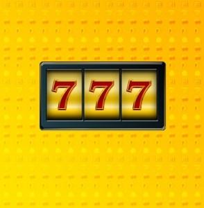 Casino Slot machine 777 win