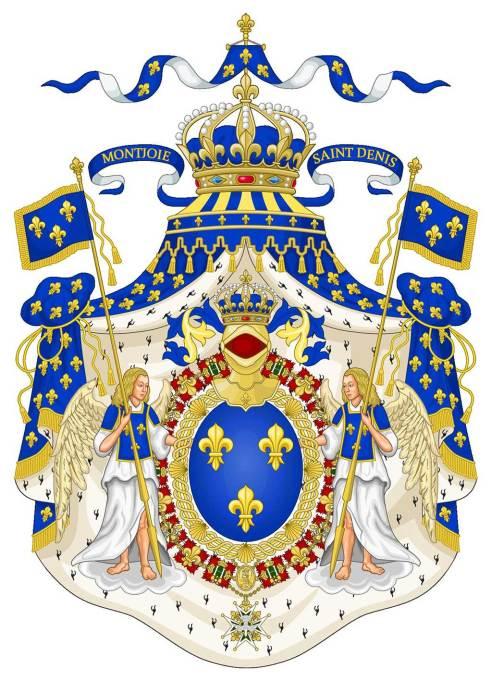 Les grandes armes de France