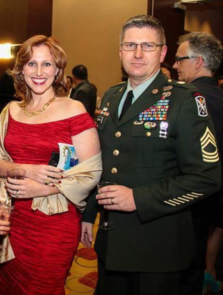 Dr. Courtney Sherman and Steven Sherman in 2014