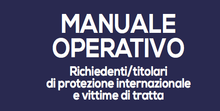 """Manuale operativo nell'ambito dell'azione 3 del Progetto NO TRATTA """"Benchmarking e modellizzazione degli interventi"""""""