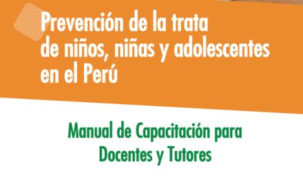 Prevención de la trata de niños, niñas y adolescentes en el Perú