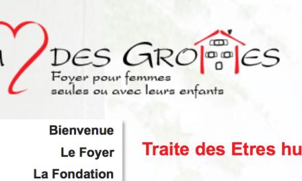 Fondation Au coeur des Grottes – Genève – Suisse – Un suivi à 100% des femmes en situation d'esclavage