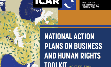 DENMARK – NATIONAL ACTION PLANS ON BUSINESS AND HUMAN RIGHTS TOOLKIT 2017 EDITION