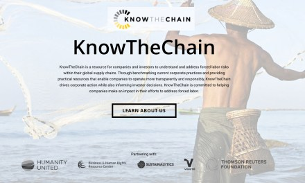 """""""KnowTheChain"""" is a resource for companies and investors to understand and address forced labor risks"""