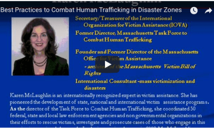 HARVARD UNIVERSITY – Best Practices to Combat Human Trafficking in Disaster Zones