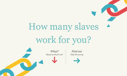 SLAVERYFOOTPRINT: How many slaves work for you?