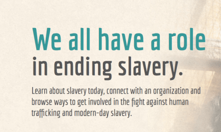 End Slavery Now believes we all have a role in ending slavery