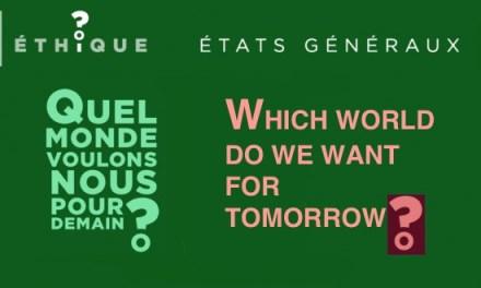 05.- Intelligence artificielle / Artificial intelligence – CHURCH OF FRANCE /  États généraux de la bioéthique – Which world do we want for tomorrow? The brave new world…