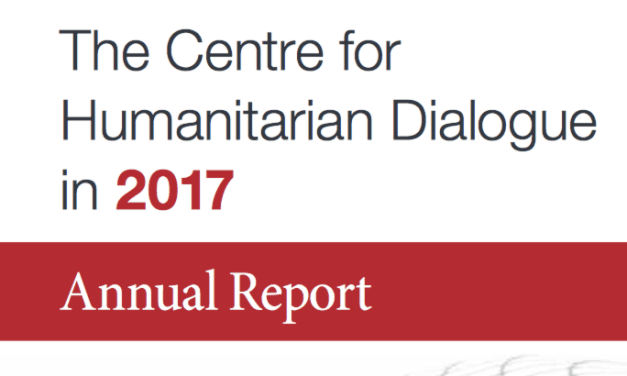 The Centre for Humanitarian Dialogue: Annual Report 2017