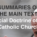WHICH WISDOM FOR THE FUTURE: SUMMARIES OF 14 ENCYCLICALS OF SOCIAL THE DOCTRINE OF THE CATHOLIC CHURCH